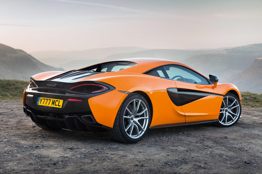 McLaren 570S rear quarter