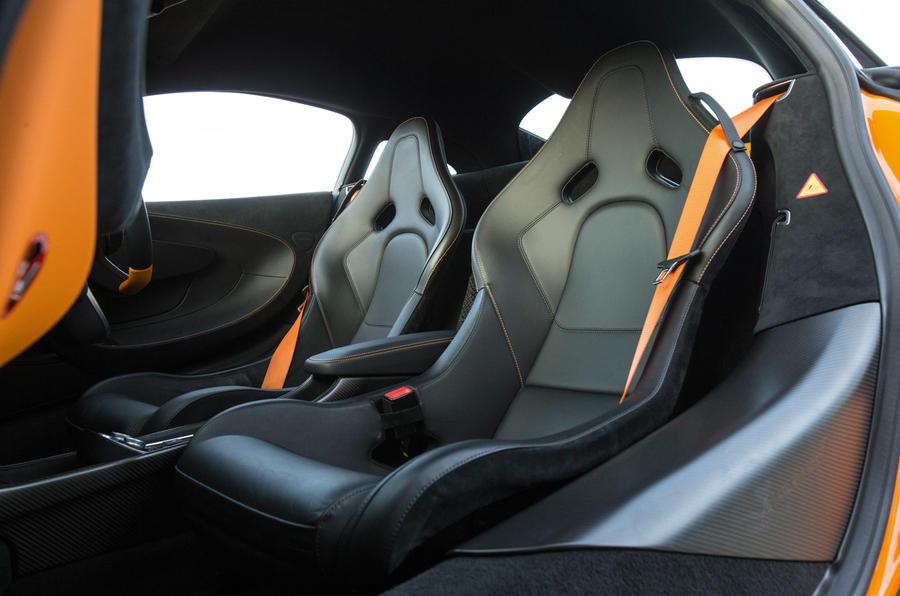McLaren 570S sport seats
