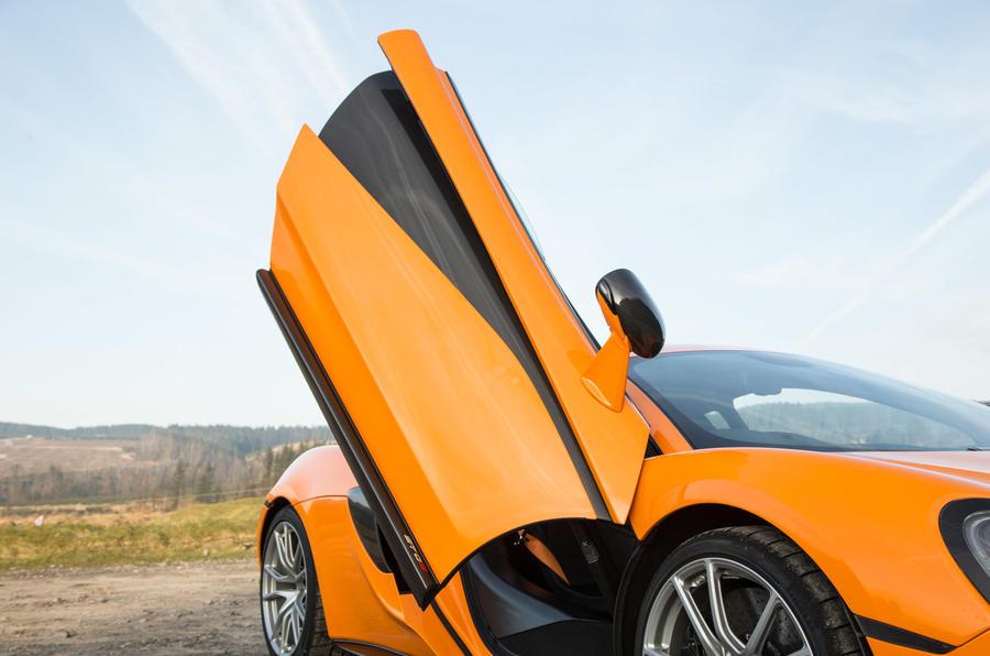 McLaren 570S scissor doors