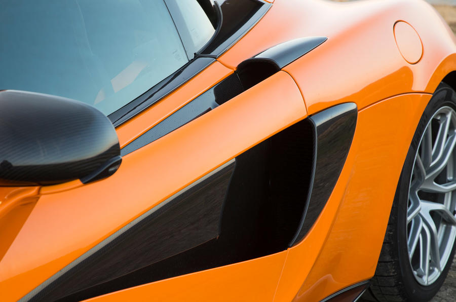 McLaren 570S side air intake