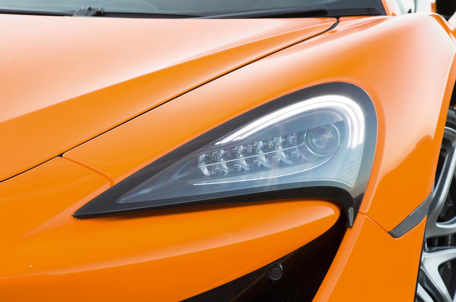 McLaren 570S LED headlights