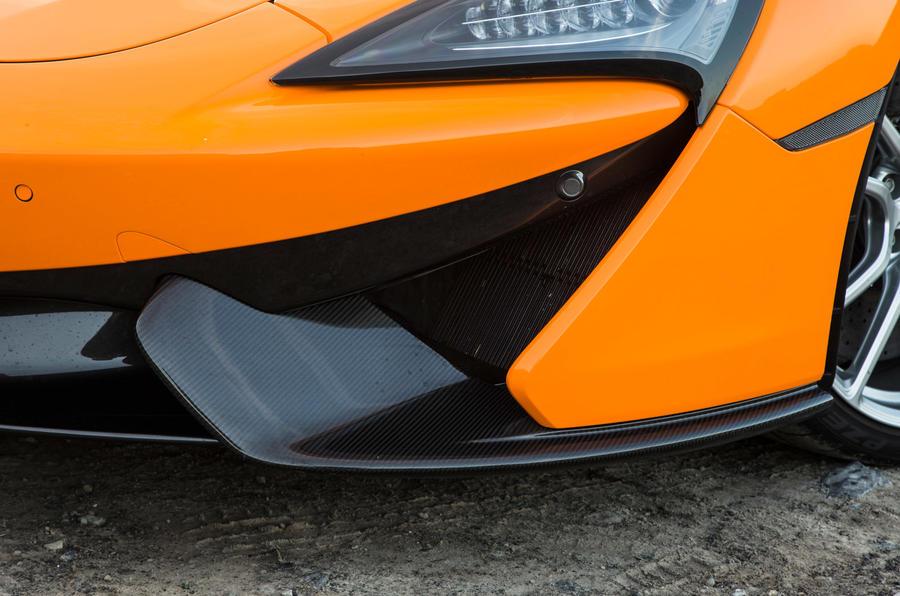 McLaren 570S front air intake