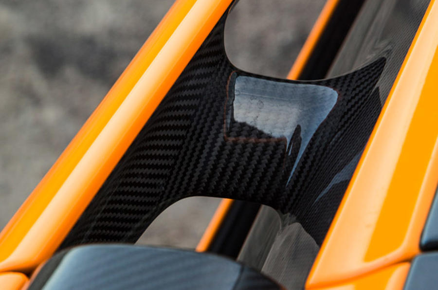 McLaren 570S carbonfibre construct