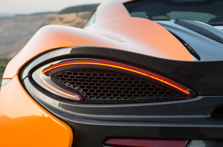McLaren 570S rear LED lights