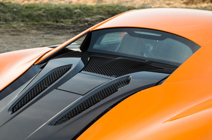 McLaren 570S engine cover