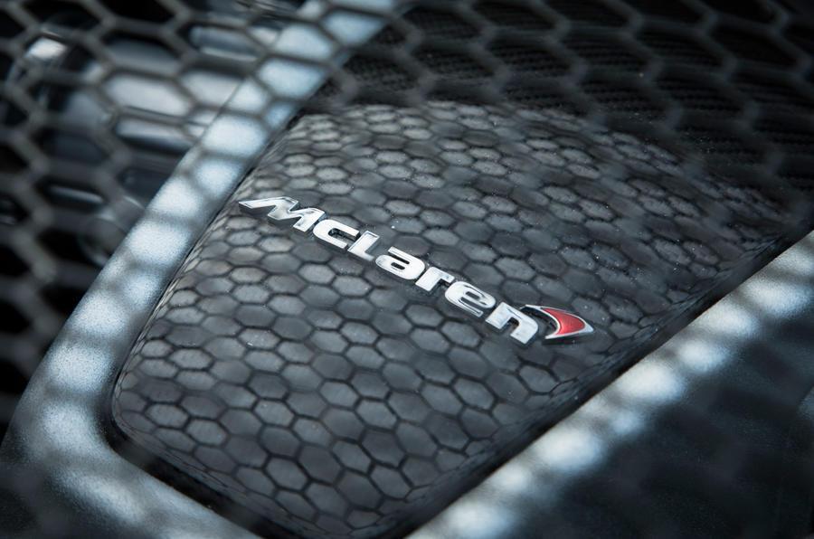 3.8-litre V8 McLaren 570S engine