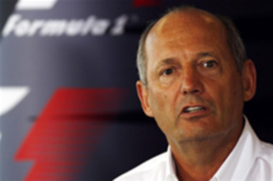Ron Dennis won't step down