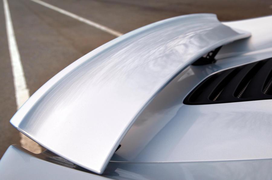 McLaren 12C Spider rear wing