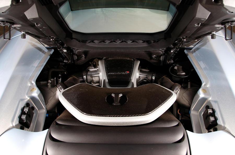 McLaren 12C Spider 3.8-litre V8