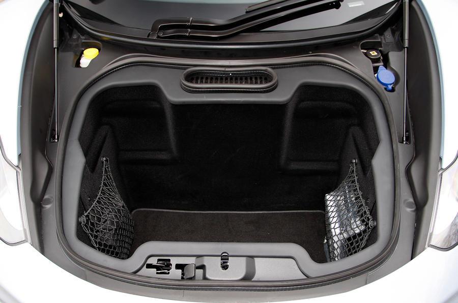 McLaren 12C boot space