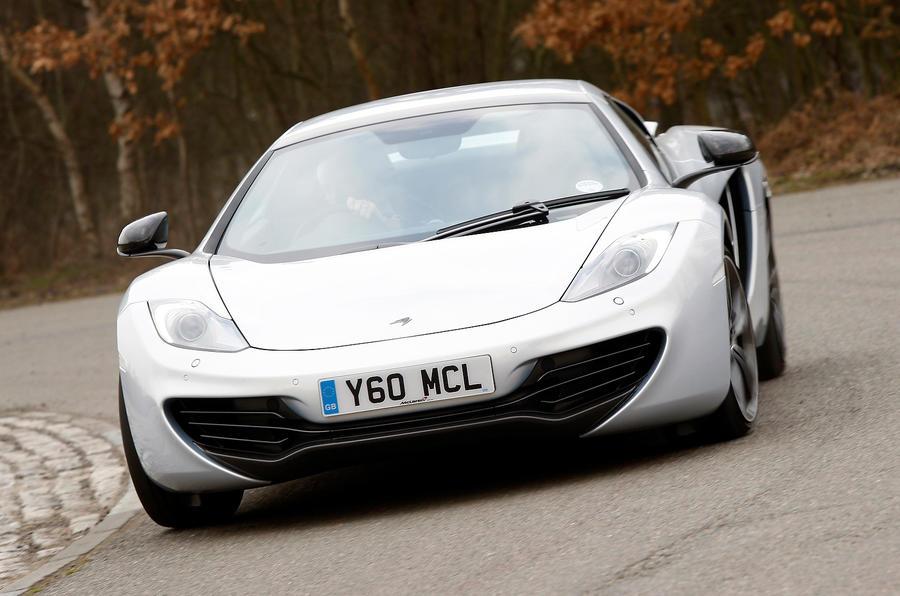 McLaren 12C Spider cornering