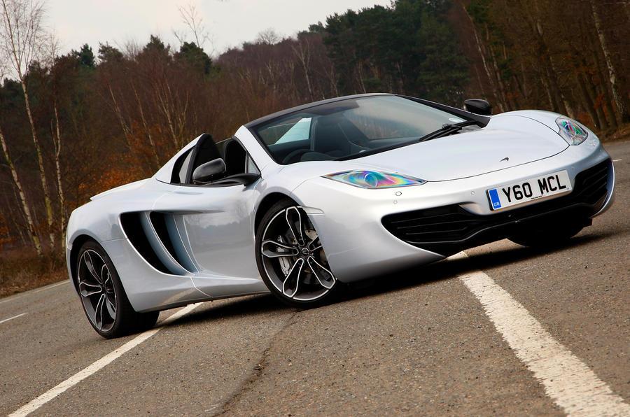 4.5 star McLaren 12C Spider