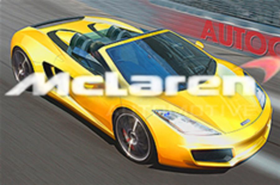 McLaren plans hybrid supercars