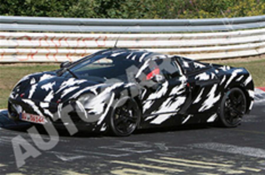More pics: McLaren P11 supercar