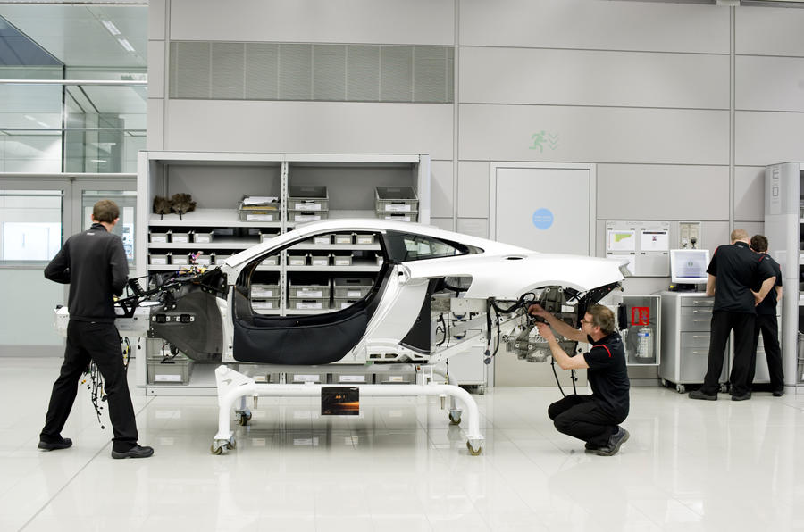 McLaren MP4 enters production