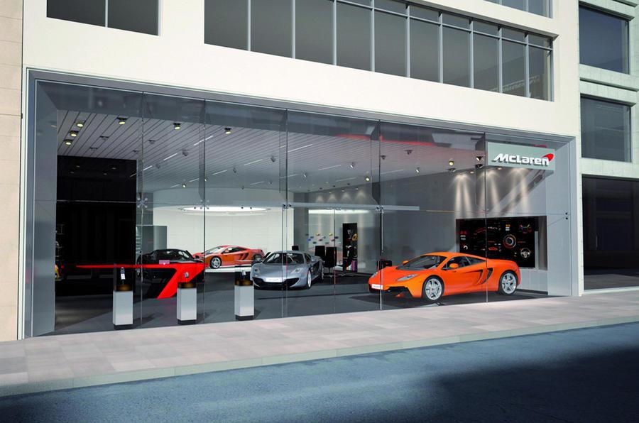 McLaren confirms UK dealers