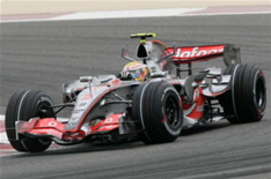 McLaren excluded from F1 championship