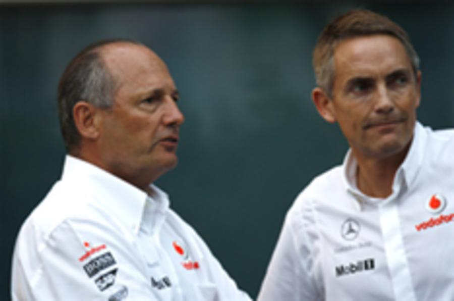 Whitmarsh for top McLaren job
