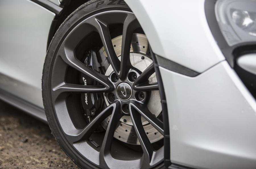 McLaren 540C alloy wheels