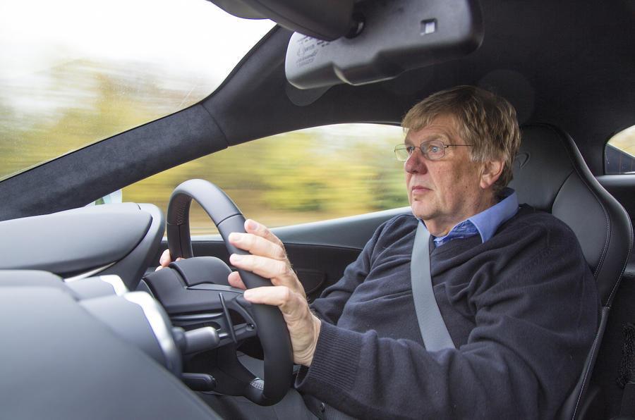 Driving the McLaren 540C