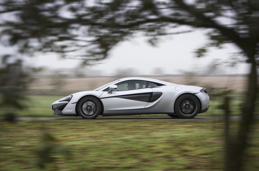 McLaren 540C side profile