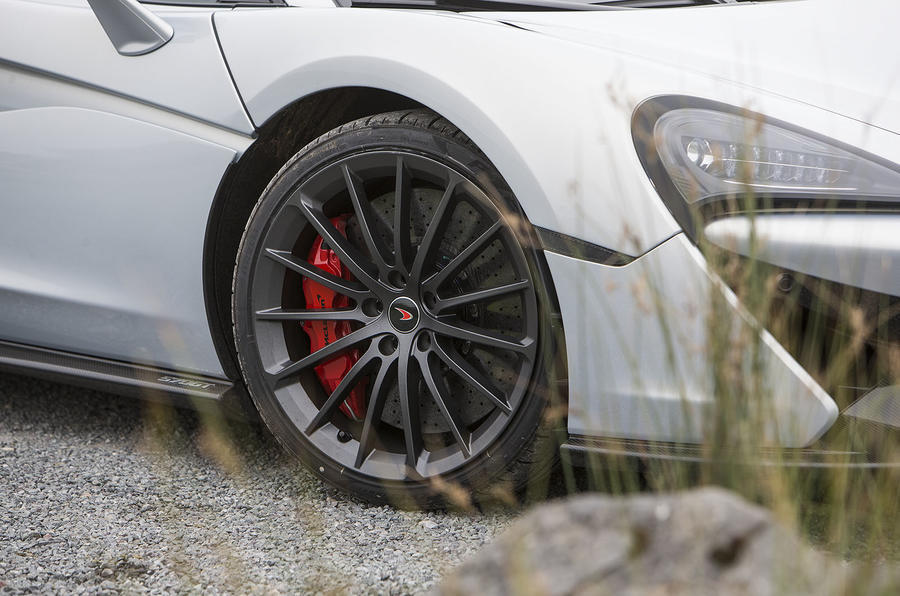 McLaren 570GT alloy wheels