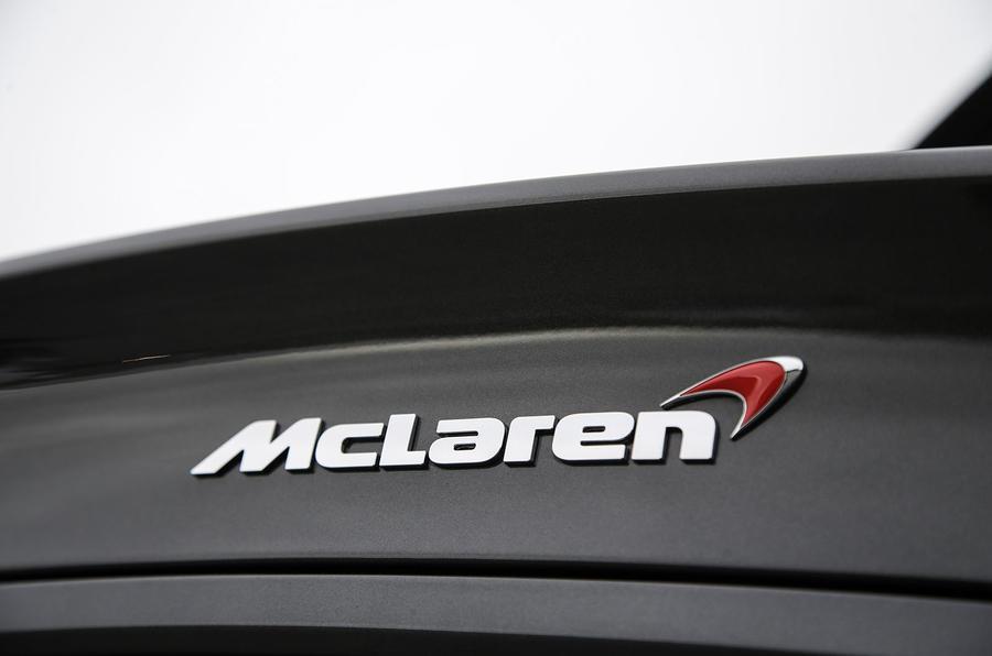 McLaren 570GT badging
