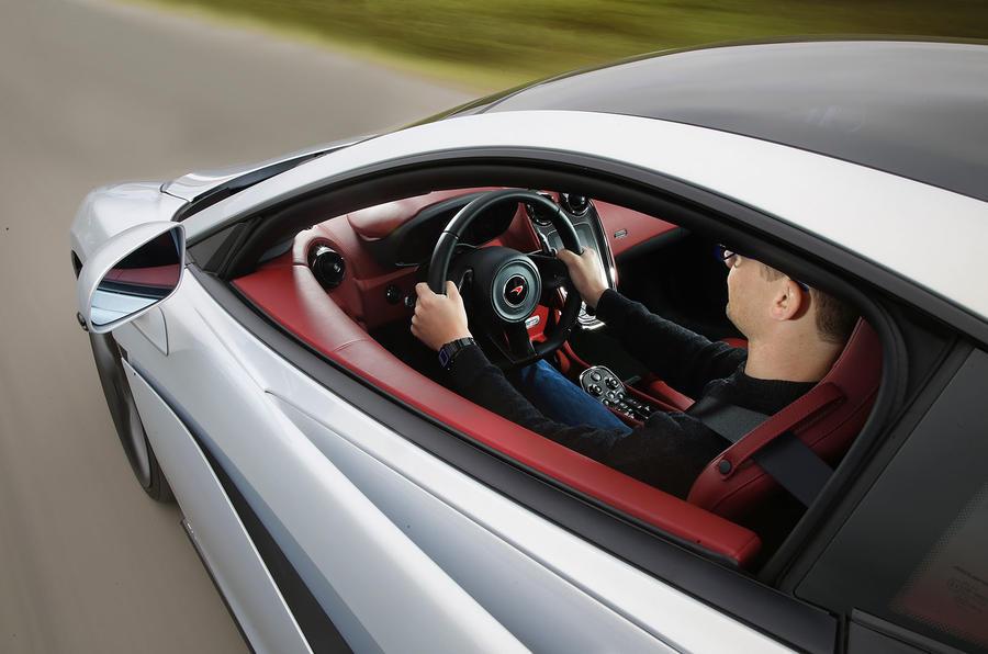 Driving the McLaren 570GT