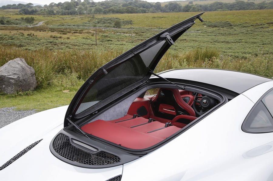 McLaren 570GT rear hatch