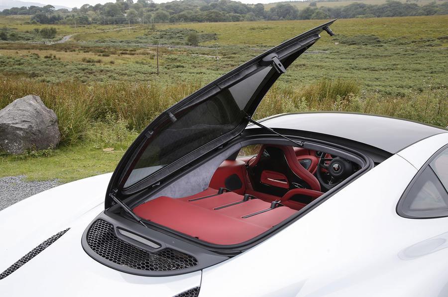 McLaren 570GT rear hatch