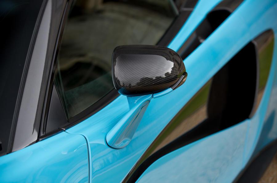 McLaren 570S Spider wing mirrors
