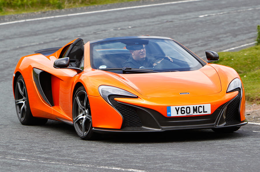 Mclaren 650s Spider Review 2017 Autocar