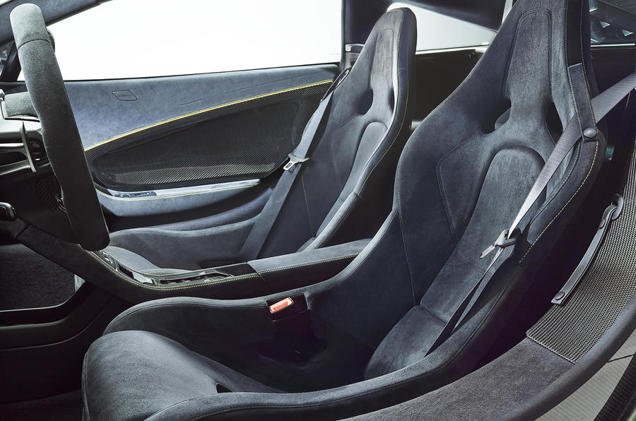 McLaren 650S sport seats