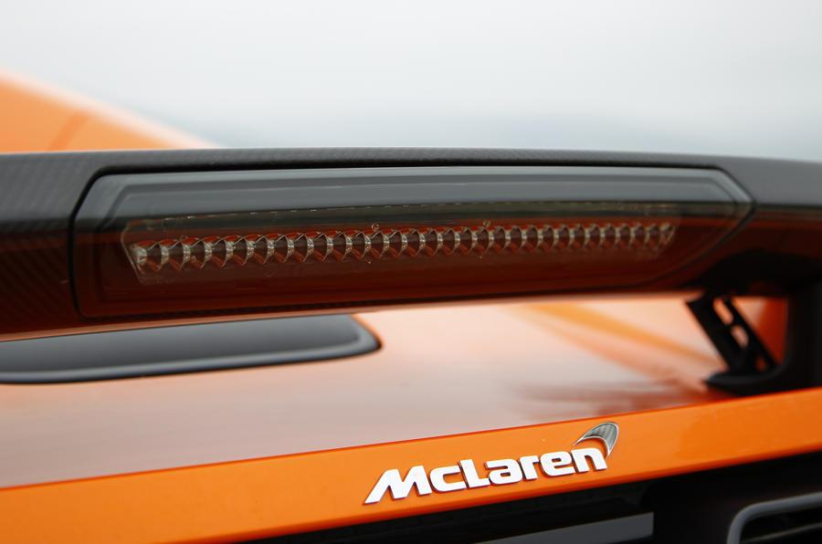 McLaren 650S Spider rear wing