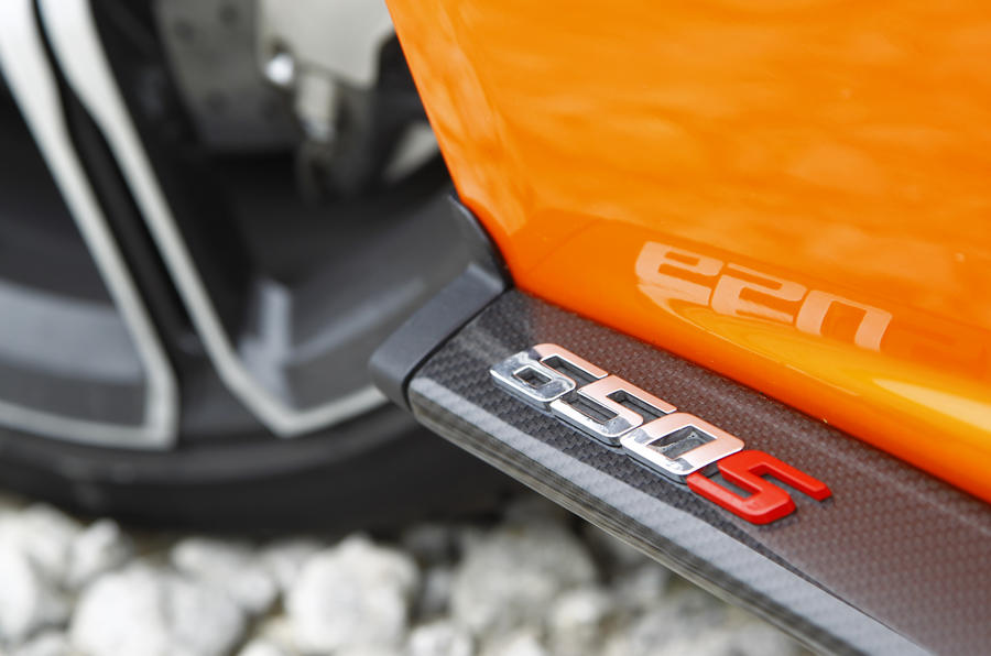 McLaren 650S Spider carbonfibre blades