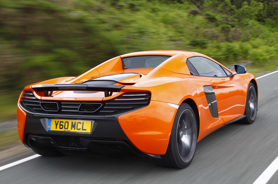 McLaren 650S Spider rear quarter