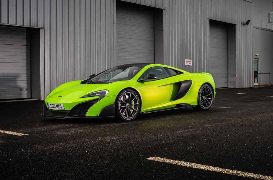 5 star McLaren 675 LT