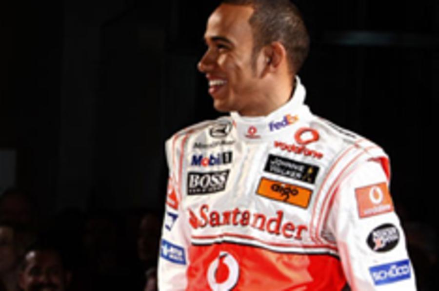 Lewis signs £70million McLaren contract