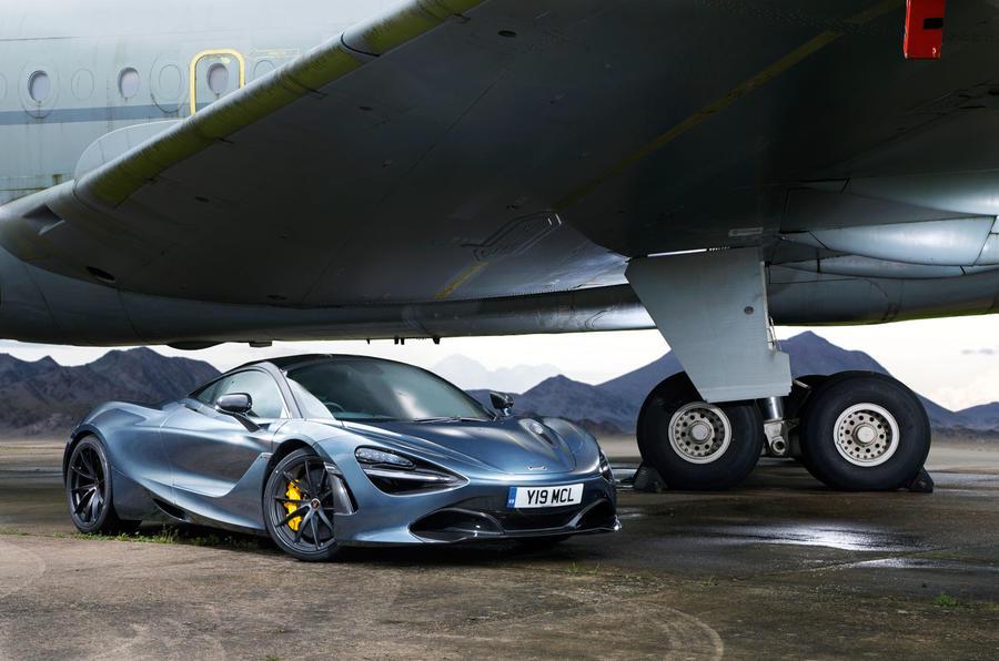 5 star McLaren 720S