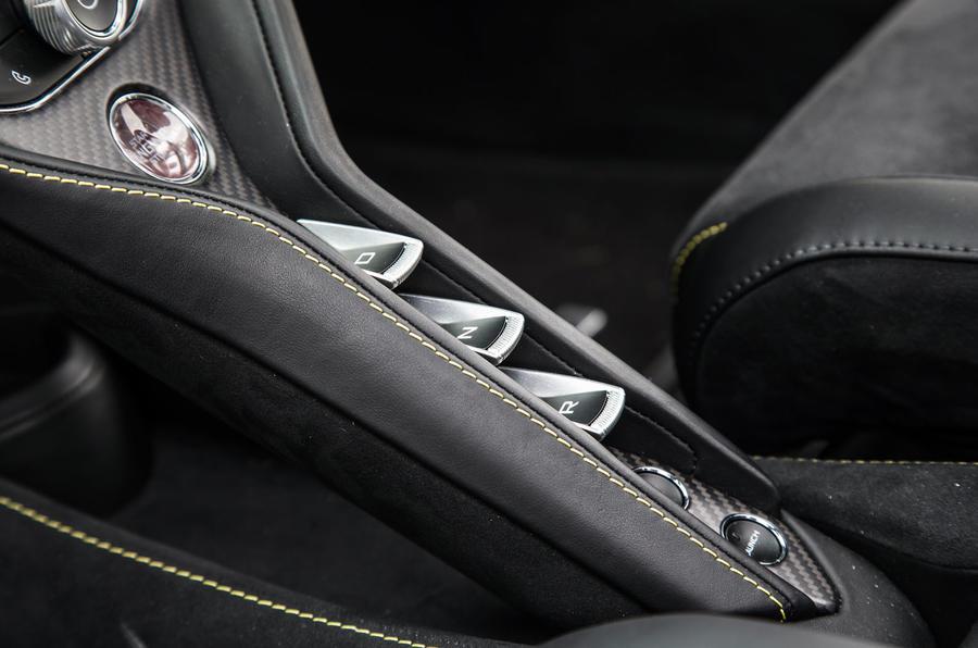 McLaren 720S dual-clutch gearbox