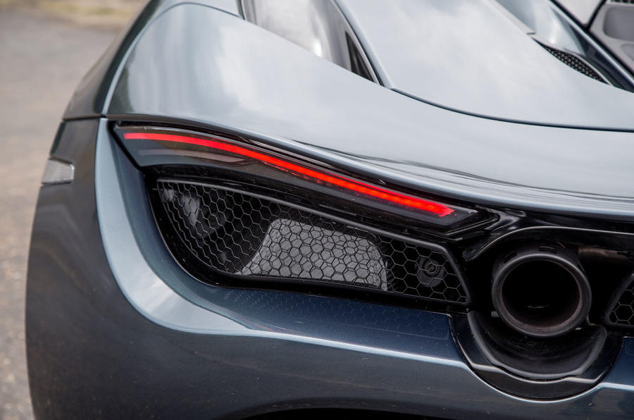 McLaren 720S rear light