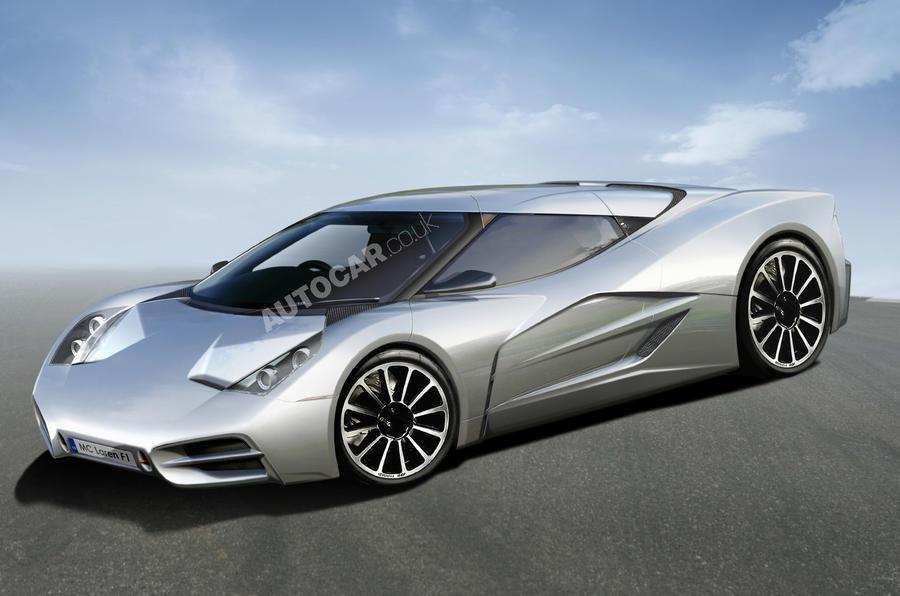 New McLaren F1 in 2012