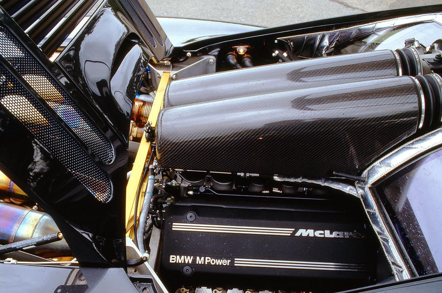 McLaren F1's 6.1-litre BMW engine