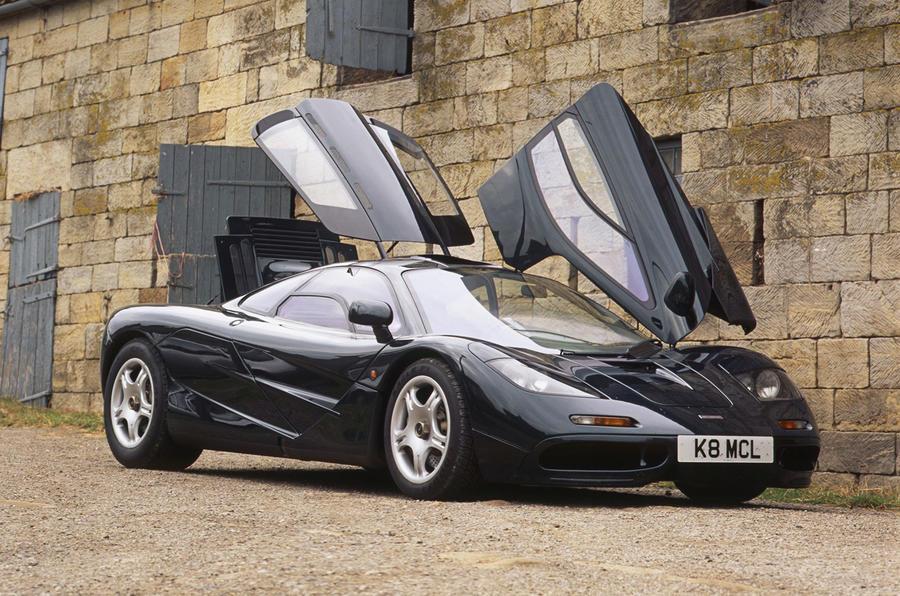 ... McLaren F1 dihedral doors ... & McLaren F1 1992-1998 design u0026 styling   Autocar