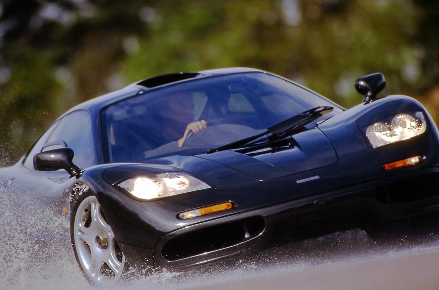 McLaren F1 cornering