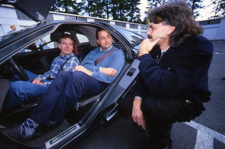 Mclaren F1 1992 1998 Interior Autocar