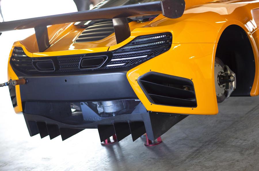 McLaren's new MP4 GT3 racer