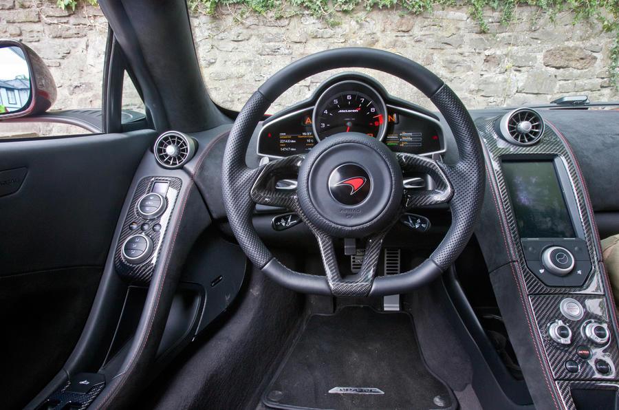 Official: the McLaren P1 GTR's interior | Top Gear