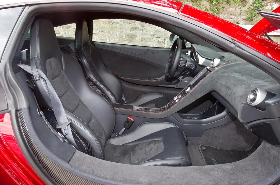 McLaren 12C front sport seats