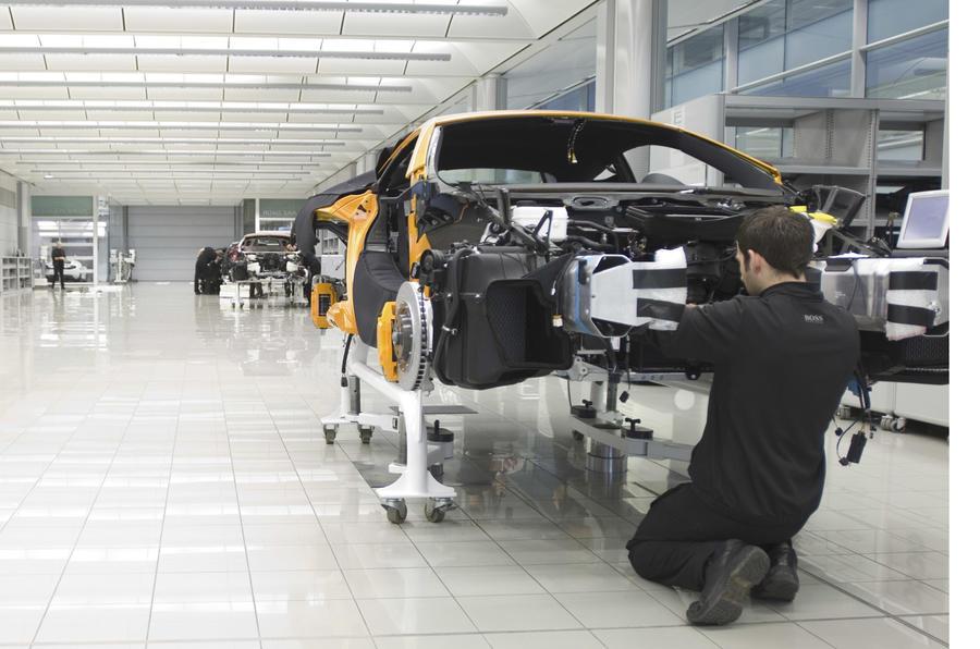 McLaren: 'F1 boosts road car'